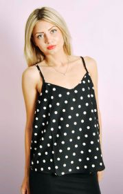 Polkda Dot Lightweight Cami